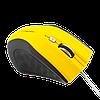 Мышка LogicFox LF-MS043 желтый + чёрный, фото 2