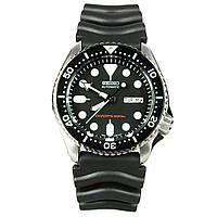 Мужские механические часы Seiko SKX007K1 Сейко часы механические с автоподзаводом
