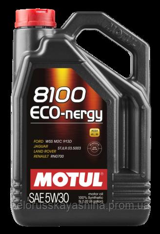 MOTUL 8100 Eco-nergy SAE 5W30 (5L)