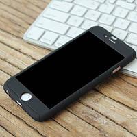 Пластиковый чехол Полная защита Черный для IPhone 6/6s