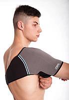 Согревающий фиксирующий бандаж для плеча с турмалином, фото 4