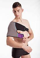 Согревающий фиксирующий бандаж для плеча с турмалином, фото 2