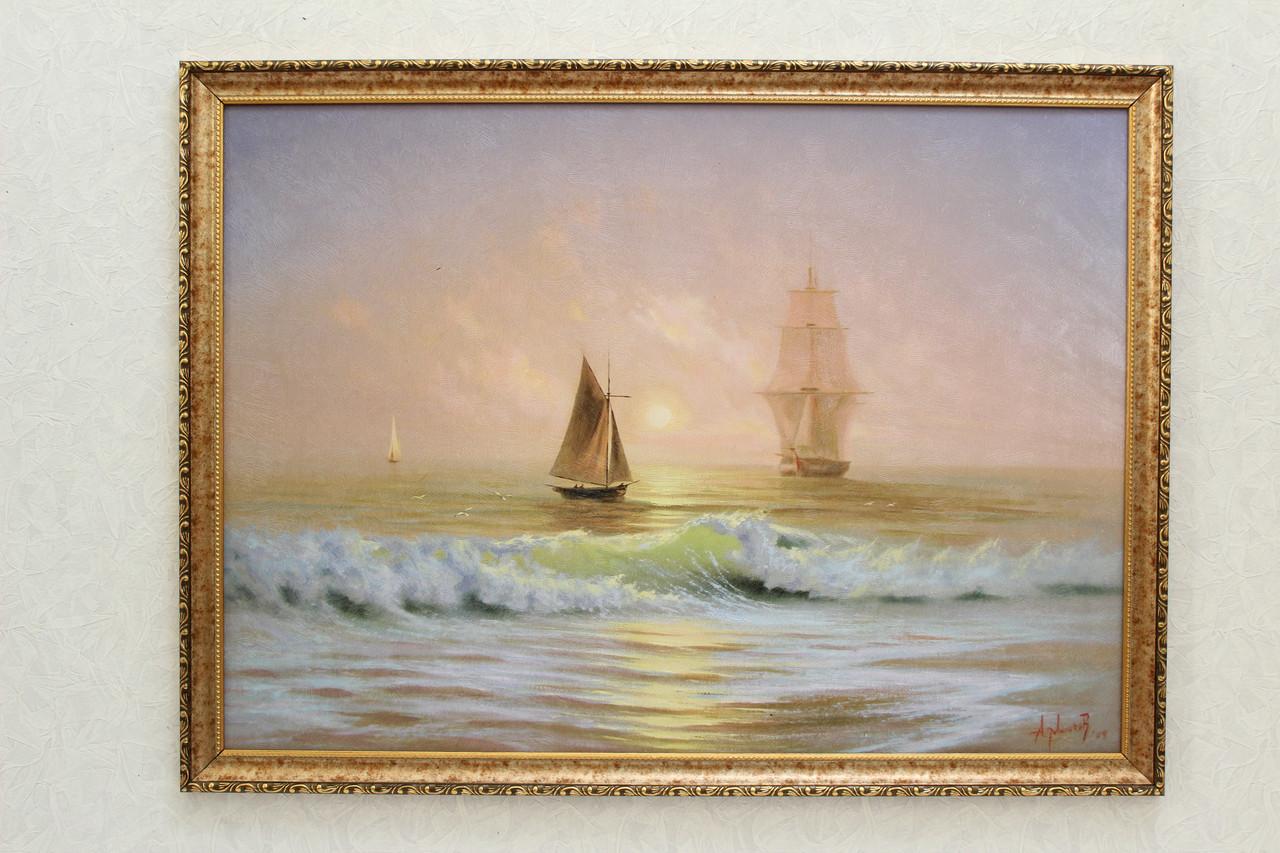 """Картина """"Две лодки"""""""