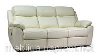 3-х місний шкіряний диван з функцією спання Алабама Біз
