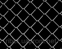 Сетка рабица оцинкованная 1.2м 50*50  1.6мм, фото 2