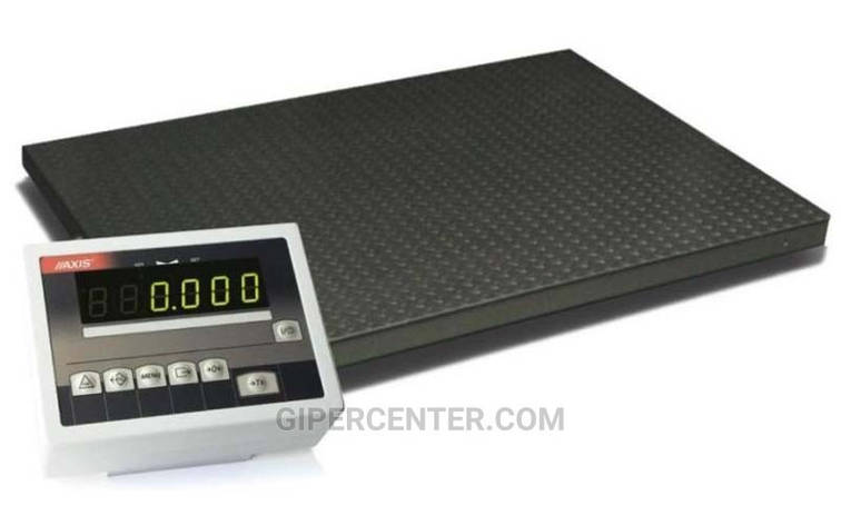 Платформенные весы 4BDU1500-1212 стандарт 1250х1250 мм (до 1500 кг), фото 2