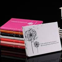 Кожаный чехол смарт обложка Одуванчик Dandelion White Белый для iPad Mini