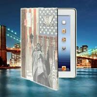 Чехол ретро стиль Statue of Liberty New York Статуя Свободы Нью-Йорк для iPad 2/3/4
