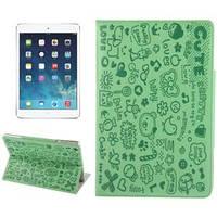 Милый чехол-обложка ультра-тонкий защитный Green Зеленый для iPad Air
