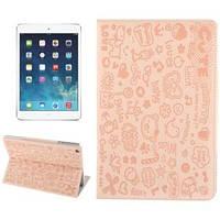 Милый чехол-обложка ультра-тонкий защитный Beige Бежевый для iPad Air