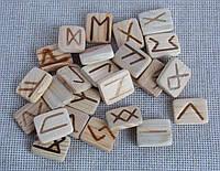 Руны деревянные Сосна