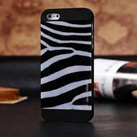 Пластиковый чехол Motomo Zebra Зебра для IPhone 5/5s