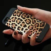 Пластиковый чехол Motomo Jaguar для IPhone 5/5s