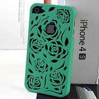 Чехол накладка розы Минт для IPhone 4/4s