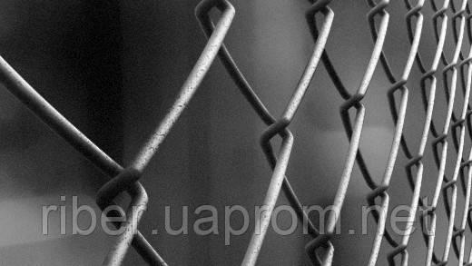 Сетка рабица металлическая  1.5 м 50*50 1.8м, фото 2