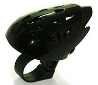 Дзвінок велосипедний в формі шлема чорний SBL-452-BLK SPELLI