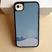 Чехол Speck Winter Wonderland Blue для IPhone 4/4s