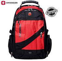 Рюкзак SwissGear / Wenger SA1418R красный с черным оригинал