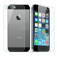 Защитное стекло комплект для Apple iPhone 5/5s/5se 0.3 mm 9H