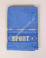 Махровое полотенце банное T1807 (140*70) Синий