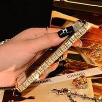 Золотой металлический бампер с камнями Fashion Snake для IPhone 5/5s