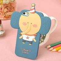 Силиконовый чехол Momo's Animals Elephant Слон для IPhone 5