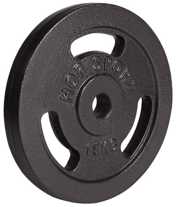Диск металевий Hop-Sport 15 кг