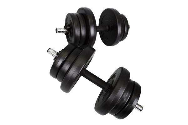 Гантели композитные Hop-Sport 2 х 10 кг