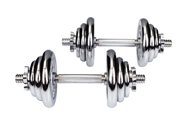 Гантели хромированные Hop-Sport 2 х 10 кг