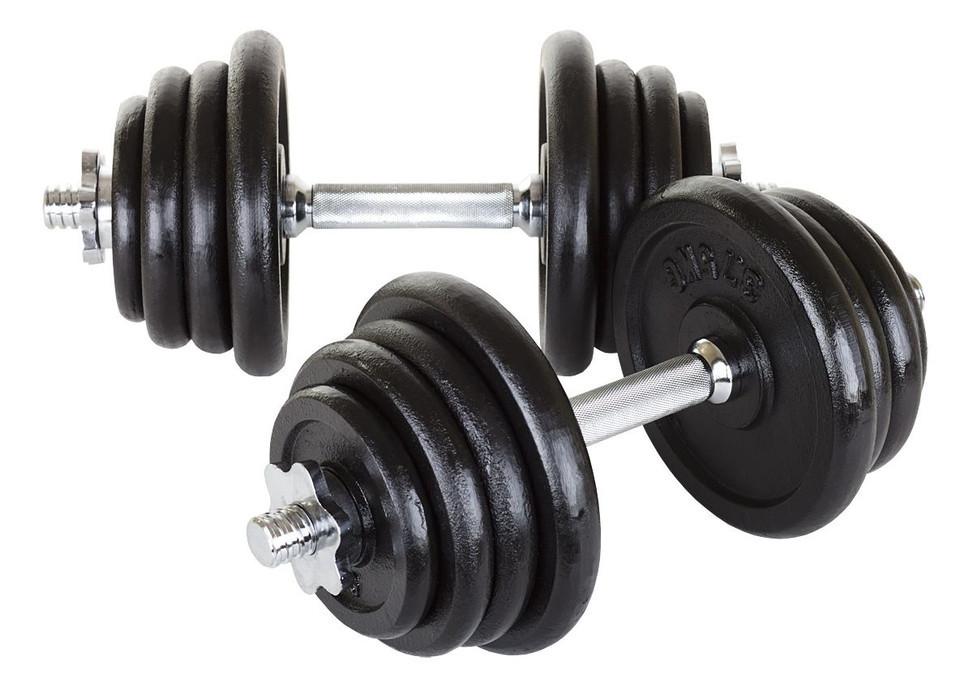 Гантели металлические Hop-Sport 2 х 20 кг