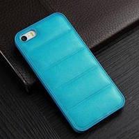 Пластиковый чехол Luxory case leather Бирюзовый IPhone 5