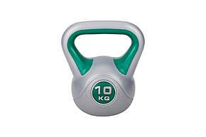 Гиря виниловая Hop-Sport 10 кг , фото 2