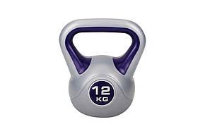 Гиря виниловая Hop-Sport 12 кг , фото 2