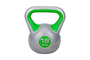 Гиря виниловая Hop-Sport 16 кг , фото 2