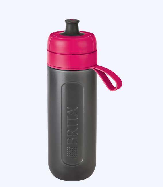 Фляга-фильтр Brita Fill&Go Active (розовый)