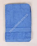 Махровое полотенце банное YZ1807 (140*70) Синий