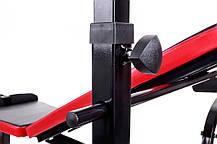 Набор Hop-Sport Premium 33 кг со скамьей HS-1020 + пульт(парта), фото 3