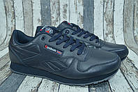 Мужские кожаные кроссовки Reebok Classic Рибок демисезонные