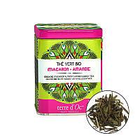 TdO Органический зеленый чай со вкусом миндального печенья/Organic Macaroon-Almond Green, 100 г