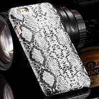Пластиковый чехол Шкура Питона Белая для iPhone 6