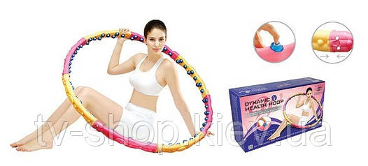 Обруч  для талии Health hoop +DVD (2,4 кг)