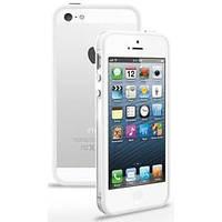 Белый с прозрачным силиконовый бампер Apple для iPhone 6 Plus