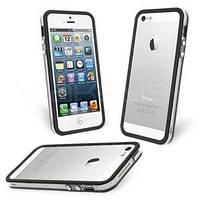 Черный с прозрачным силиконовый бампер Apple для iPhone 6 Plus