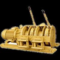 Скреперная лебедка 110ЛС-3СМА