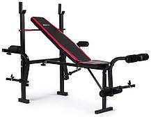 Набор Hop-Sport Premium 128 кг со скамьей HS-1055, фото 3