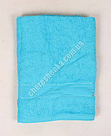 Махровое полотенце банное YZ1807 (140*70) Голубой