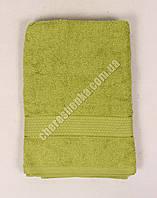 Махровое полотенце банное YZ1807 (140*70) Оливковый