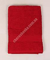 Махровое полотенце банное YZ1807 (140*70) Бордовый