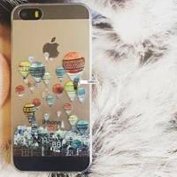Силиконовый чехол Sweet Воздушные шары для IPhone 5/5s