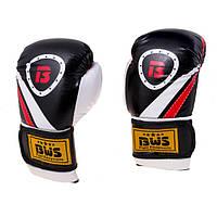 Перчатки  боксерские BWS, модель Let'sFight,   флекс